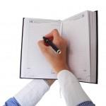 schedule-book-woman